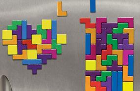El Tetris en imanes