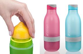 Zingo: la botella que da un toque cítrico al agua