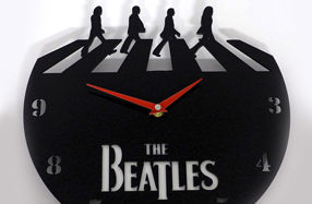 Reloj de pared para fans de The Beatles