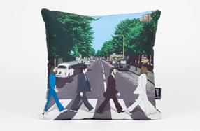 Cojines para fans de los Beatles