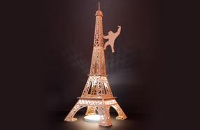 Juguetes creativos de cartón Leolandia: Torre Eiffel