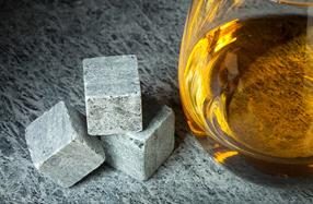 Piedras para enfriar el whisky
