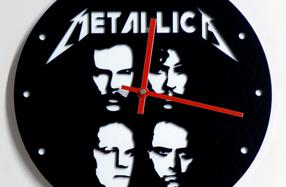 Relojes de pared para fans de grupos de rock