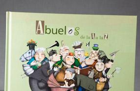 """""""Abuelos de la A a la Z"""": un libro homenaje a los abuelos"""
