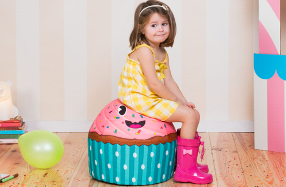Los puffs para niños más divertidos