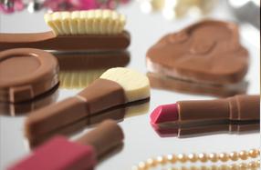 Set de maquillaje de chocolate