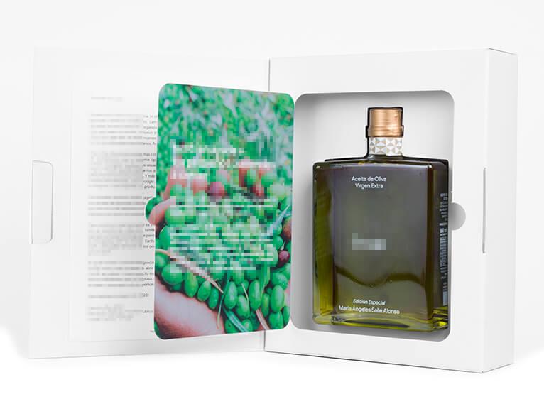 Pack de aceite personalizados